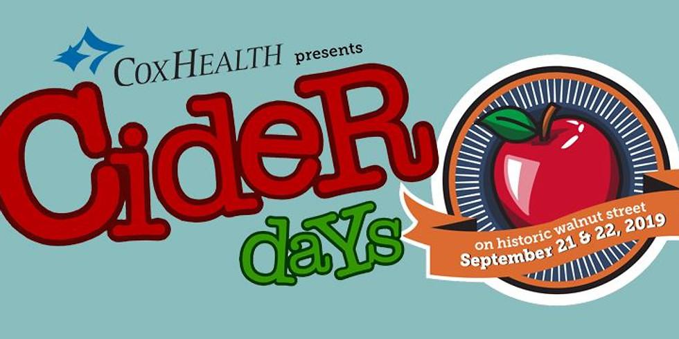 22nd Annual Cider Days