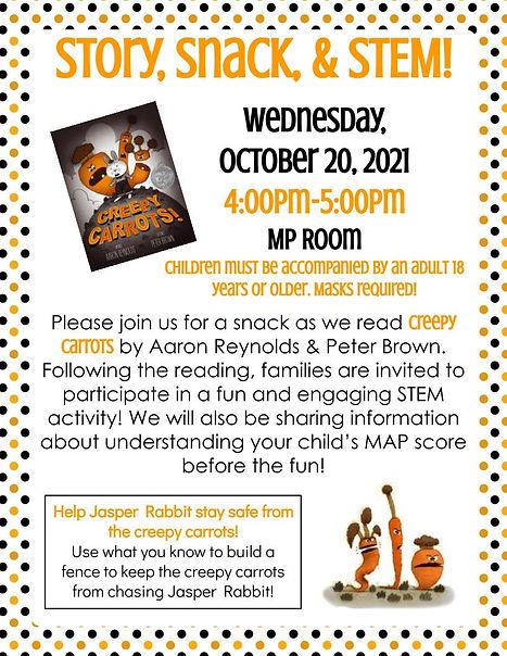 October Story, Snack, & STEM Flyer.jpg