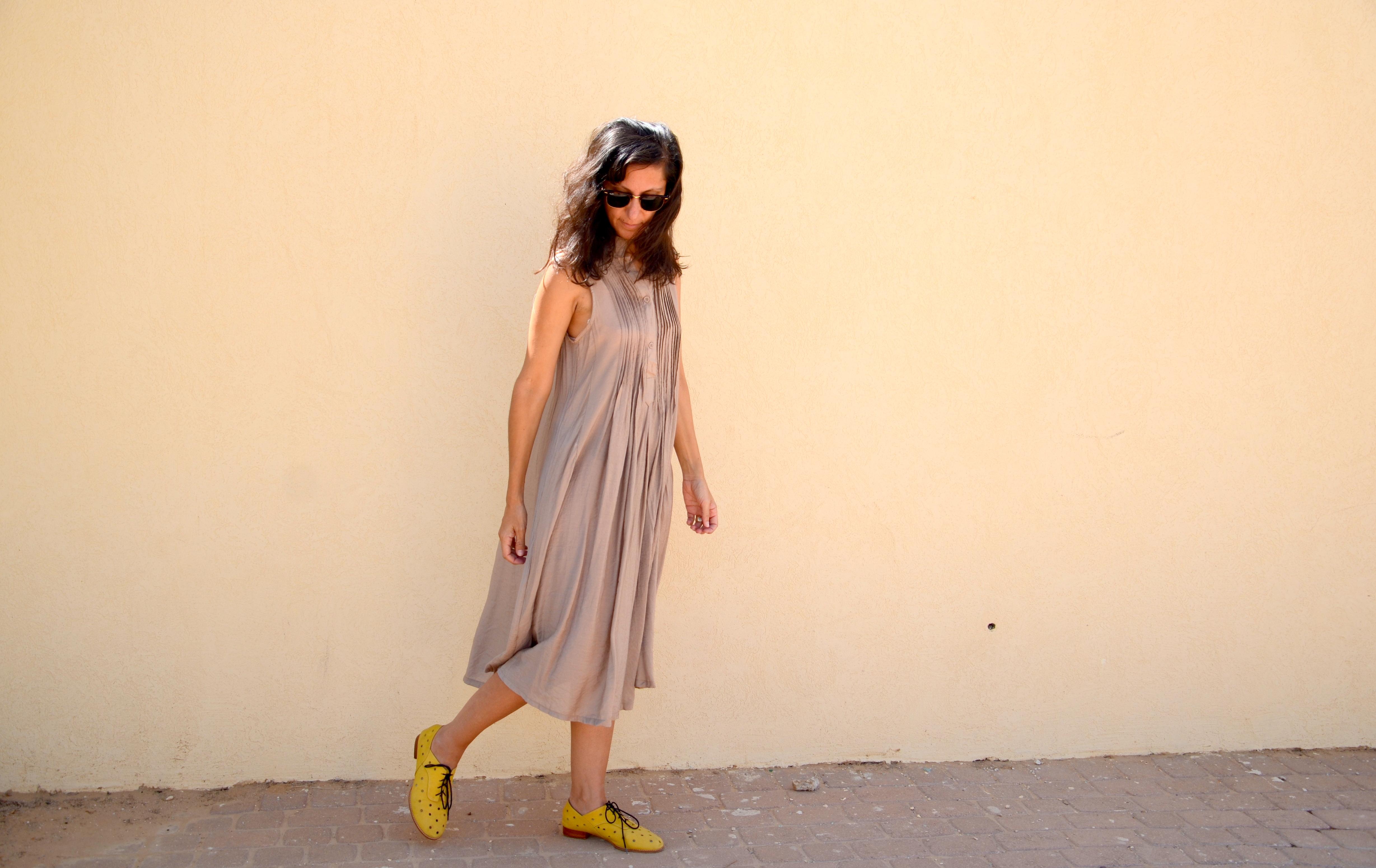 קרן נעליים צהובות