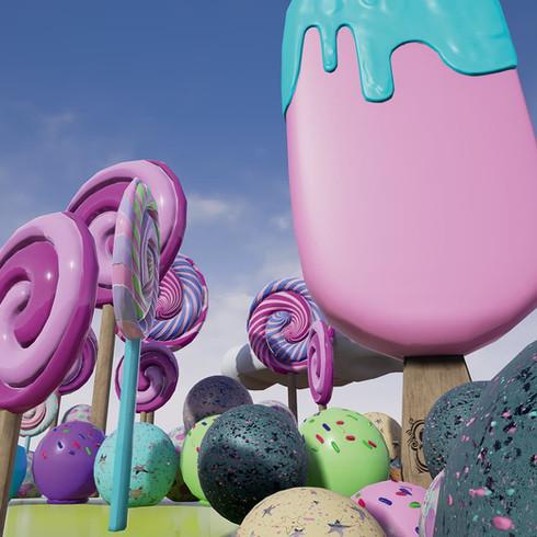 Candyworld Assets