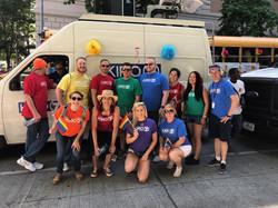 kiro group pride parade