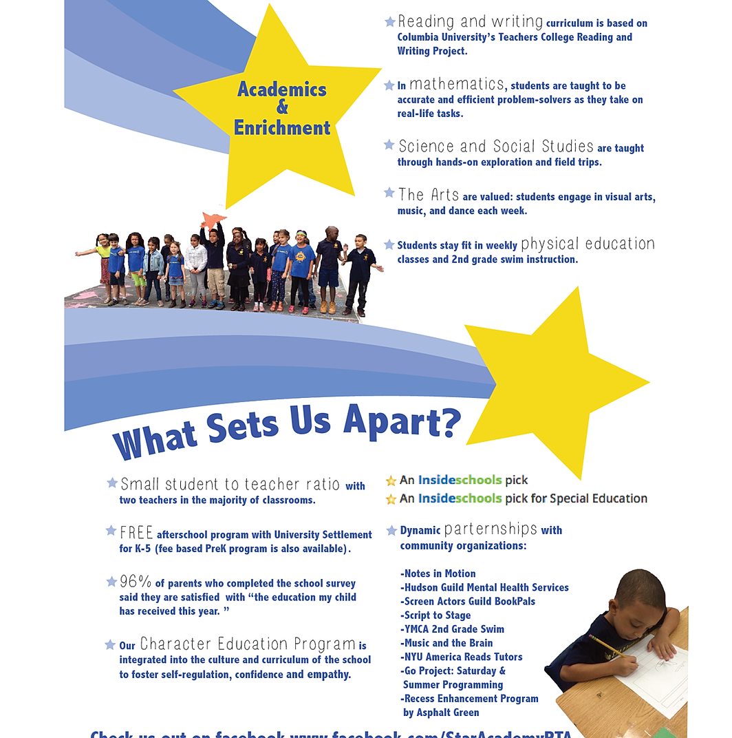 STAR Academy-PS 63 | What Sets Us Apart