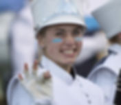 Bay Port High School band member