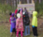 Suamico Elementary outdoor student group
