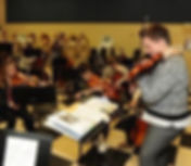 Orchestra classroom