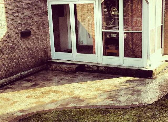 Interlock- Front House Entrance/Side House walkway