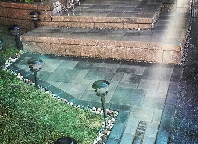 Interlock - Front House Entrance/Stepping Pad/Garden Retaining Wall