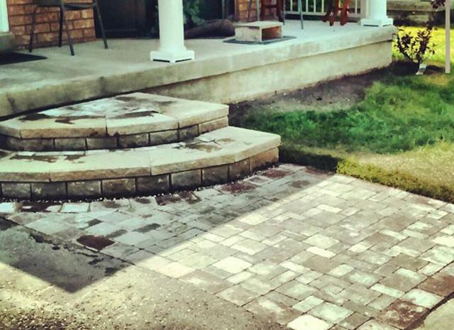 Interlock - Front House Entrance/Quarter Moon Stepping Pad