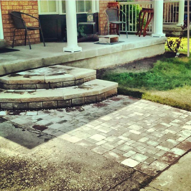 Interlock - Front House Entrance/Quarter Moon Stepping Pad