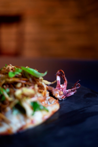 Calamari con carciofi