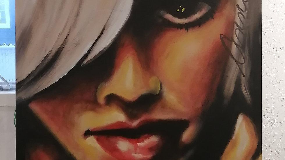Acrylique sur toile, Youth