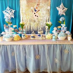 Backdrop & Cake Table