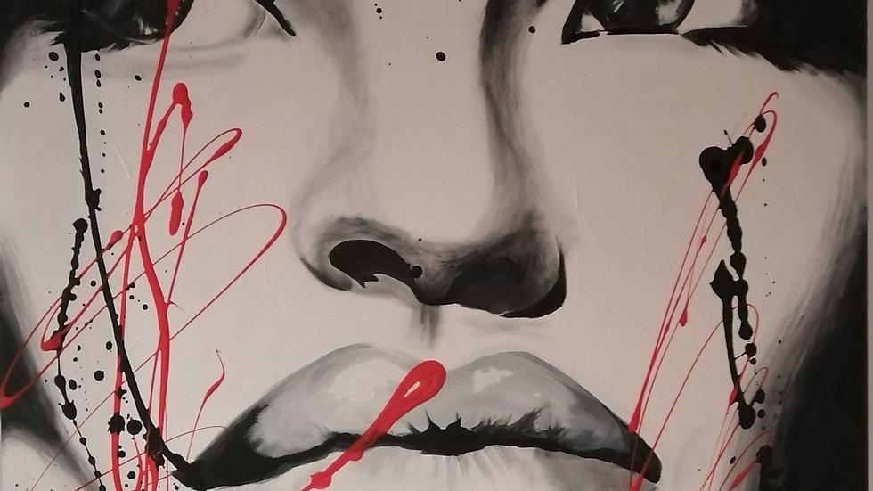 Acrylique sur toile , Coco Lea