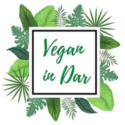 Vegan In Dar Logo