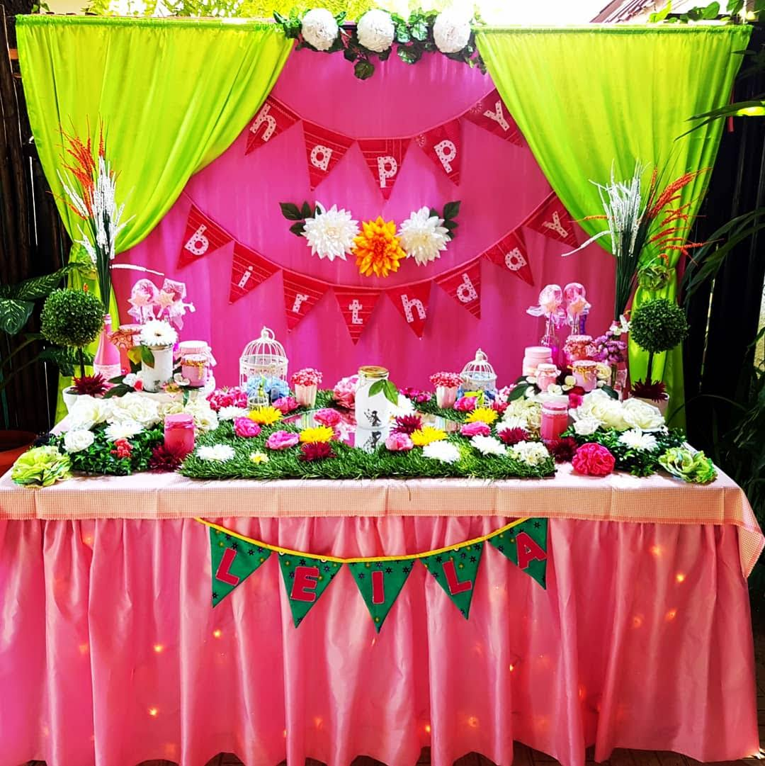 Cake Table & Backdrop
