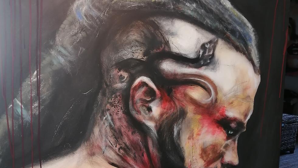 Acrylique sur toile , Ragnard