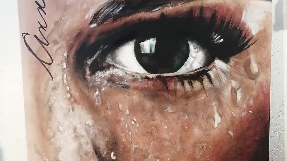 Acrylique sur toile , Sweat