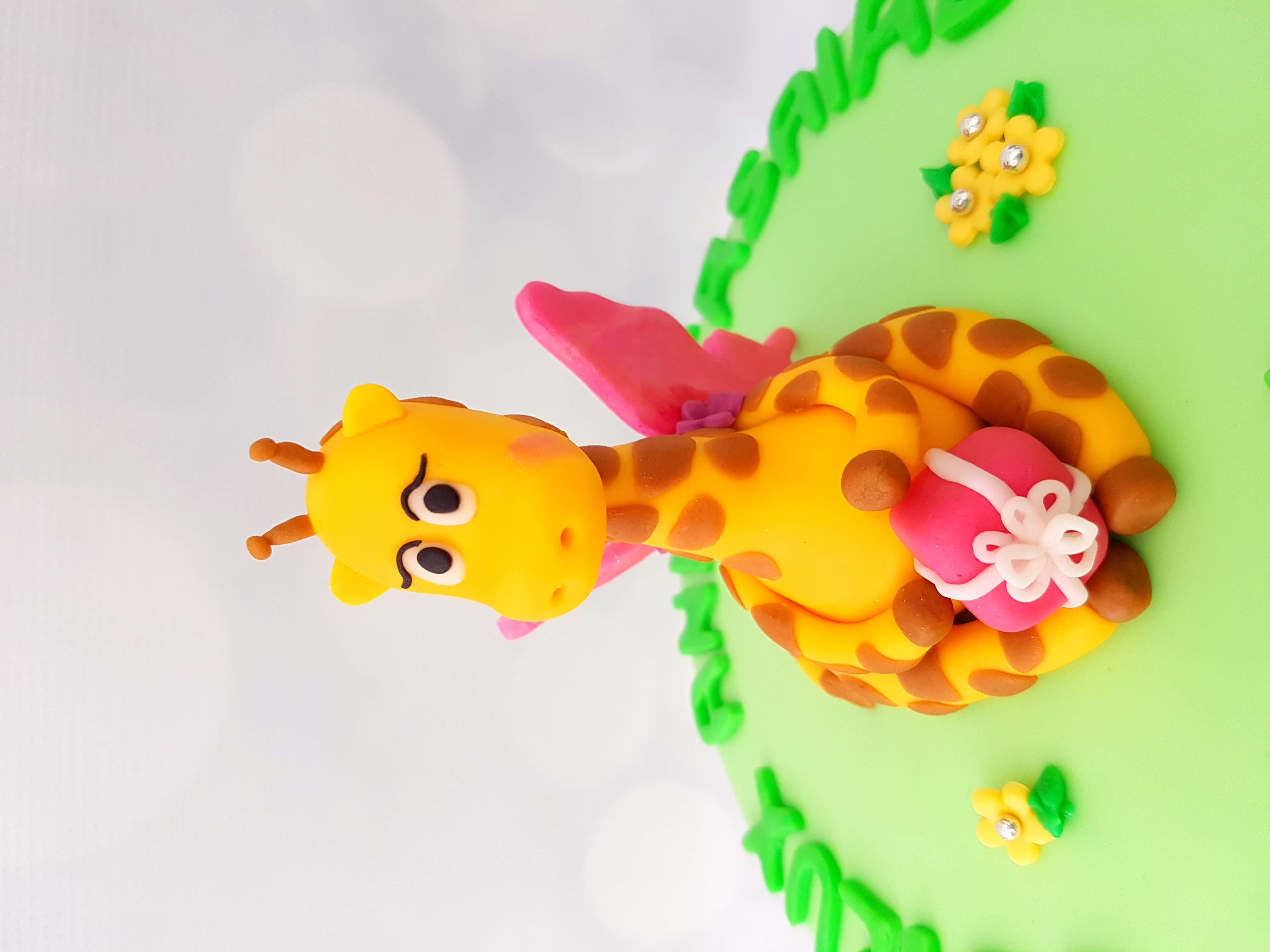 Butterfly Giraffe Cake