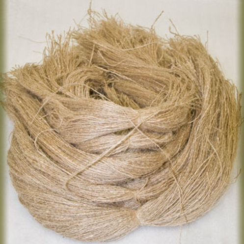 Un-dyed 1 Pound Hessian Strings