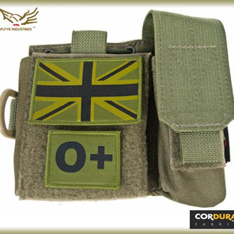 Flyye MOLLE SAF Admin Panel (Ranger Green)