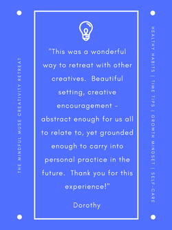Mindful Muse 2018 Dorothy Shaw quote