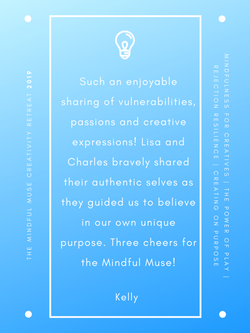Mindful Muse 2019 quote - Kelly