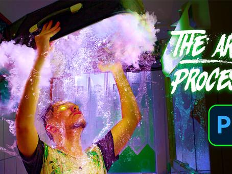 """""""Under The Water"""" Dreamy Artwork  - Adobe Photoshop Tutorial"""