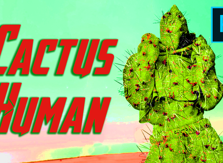 "Photo Manipulation Tutorial in Photoshop ""Cactus Human"" - unique artwork"