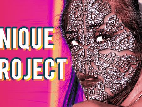 "Photoshop creative artwork ""Face Tattoo"" (Tutorial) - create realistic jewellery effect"