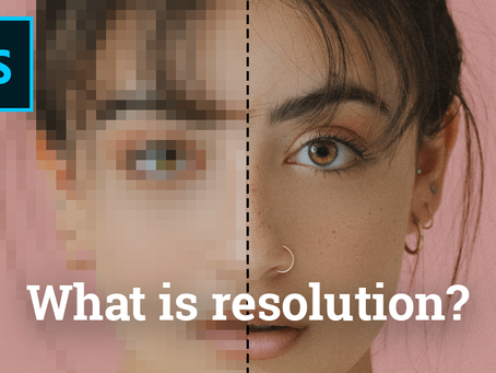 What is resolution (ppi) in Photoshop?