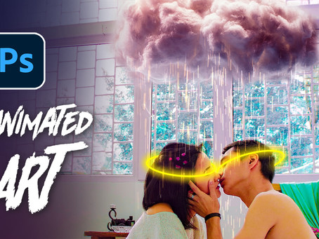 How to Create Animated Rain Effect in Photoshop? - Advanced Photoshop Animation