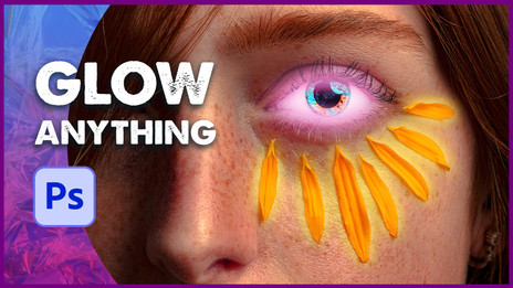 Glow Effect - Glowing Any Objects in Photoshop
