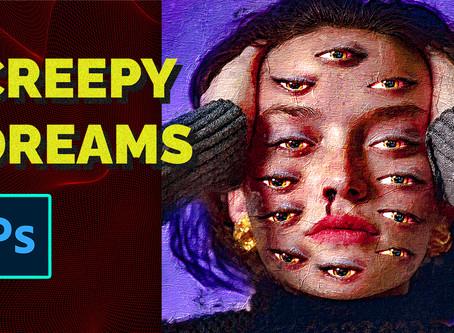 """Creepy Dreams"" Photoshop Manipulation - Lazy Tutorial"
