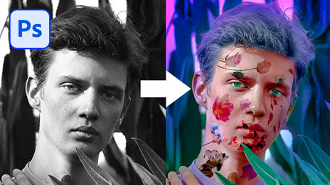 Colorize Black and White Image in Photoshop