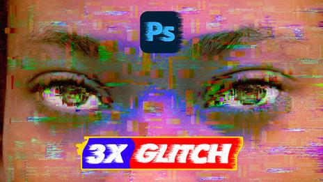 3 Ways to Create Glitch Effect in Photoshop