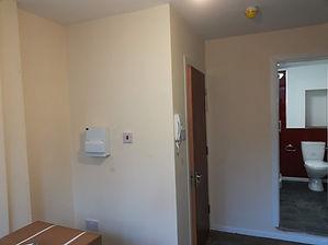 Room after plastering