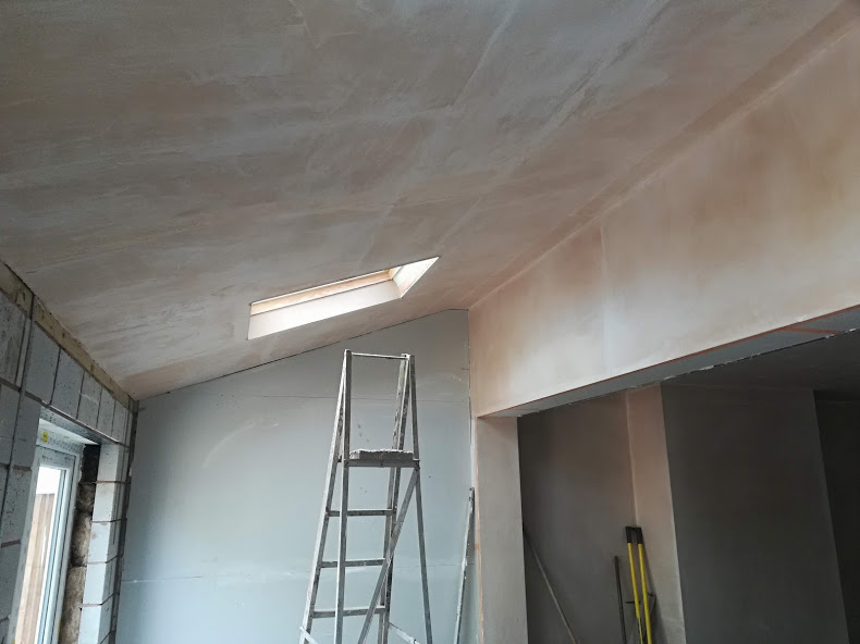 plastering ceiling in bewdley