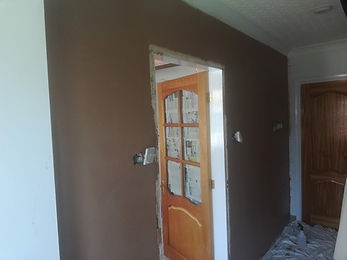 other side of door way plastered.jpg