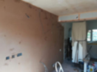 wall been plastered