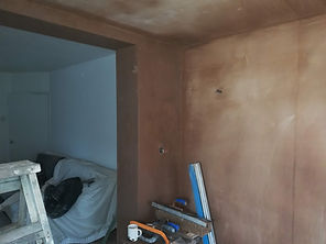 new  exten walls and ceiling plasterer