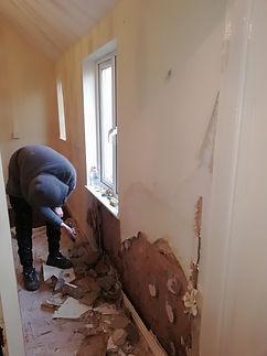 remove plaster