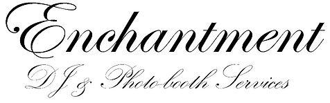 Enchantment DJ Wedding Logo