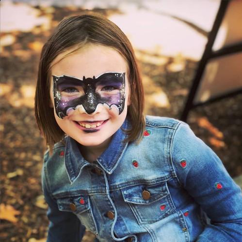 Bat Girl by iFacePaint