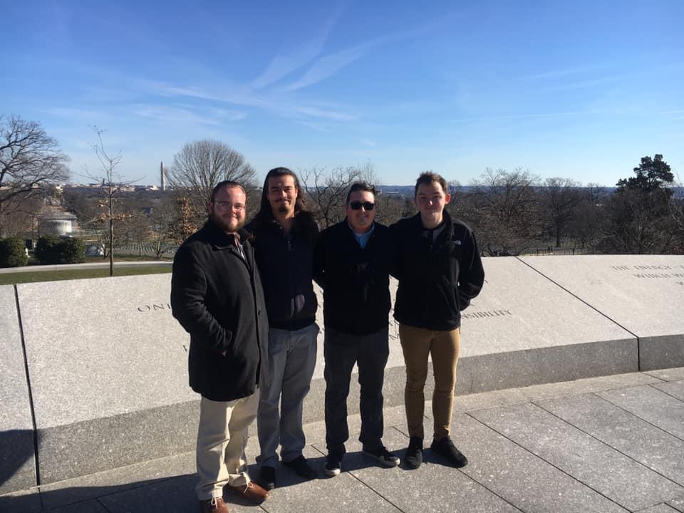 Lockegee 2019 at Arlington Cemetary in Washington D.C.