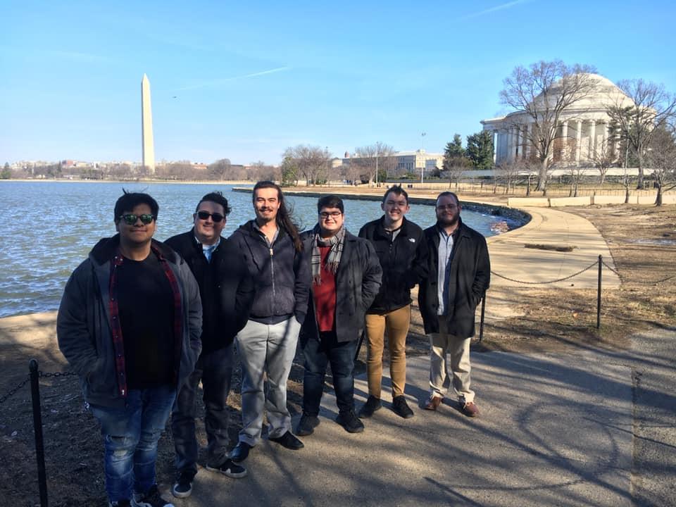 Lockegee in Washington D.C. for the International Navy Saxophone Symposium