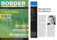 Border Management Today Magazine Artwork