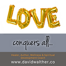 Social Media Artwork for DavidWalther.co 'Love Conquers All'