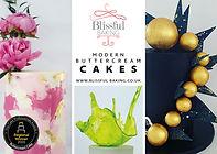 Postcard artwork for Blissful Baking