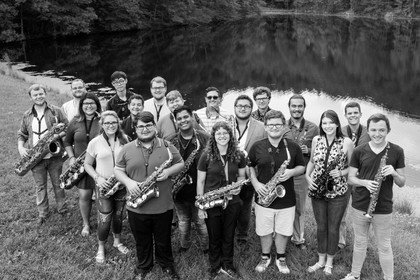 MoreSax - Morehead State University Studio 2018-2019 at Eagle Lake only a short walk from the Baird Music Hall