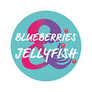 Blueberries & Jellyfish Logo_Colour on T
